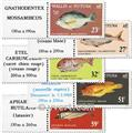 n.o 259/263f (hoja) -  Sello Wallis y Futuna Correos