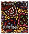 n° 1225/1228 - Timbre CROATIE Poste