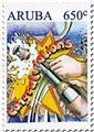n° 1008/1013 - Timbre ARUBA Poste