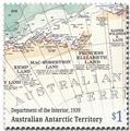 n° 263/266 - Timbre TERRITOIRE ANTARCTIQUE AUSTRALIEN Poste