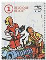 n° 4885/4889 -  Timbre BELGIQUE Poste