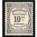 nr. 44 -  Stamp France Revenue stamp