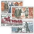 nr. 167/170 -  Stamp Andorra Mail