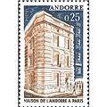 nr. 174 -  Stamp Andorra Mail