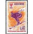 nr. 187 -  Stamp Andorra Mail
