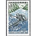 nr. 196 -  Stamp Andorra Mail