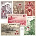 n° 200/214 -  Selo Mónaco Correios