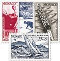 n° 32/35 -  Timbre Monaco Poste aérienne