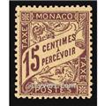 n° 5 -  Timbre Monaco Taxe