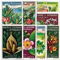 n.o 314/321 -  Sello Nueva Caledonia Correos