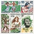 n.o 1 / 11 -  Sello Polinesia Correos