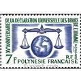 n° 25 -  Timbre Polynésie Poste