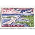 n° 5 -  Selo Polinésia Correio aéreo