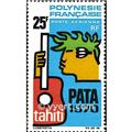 nr. 28 -  Stamp Polynesia Air Mail