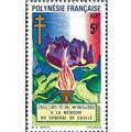 n° 46 -  Timbre Polynésie Poste aérienne