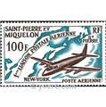 n.o 31 -  Sello San Pedro y Miquelón Correo aéreo