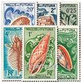 n.o 162/167 -  Sello Wallis y Futuna Correos