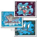 n.o 182/184 -  Sello Wallis y Futuna Correos