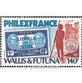n.o 285 -  Sello Wallis y Futuna Correos