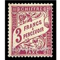 n.o 42A -  Sello Francia Tasa