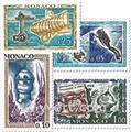 n° 591/597 -  Timbre Monaco Poste