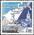 n° 614 -  Timbre Monaco Poste