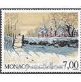 n° 1747 -  Timbre Monaco Poste
