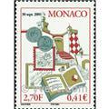 n.o 2306 -  Sello Mónaco Correos
