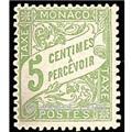 nr. 2 -  Stamp Monaco Revenue stamp