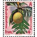 n.o 13 -  Sello Polinesia Correos