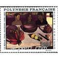 n° 25 -  Selo Polinésia Correio aéreo