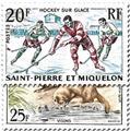 n.o 360/361 -  Sello San Pedro y Miquelón Correos