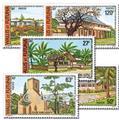 n.o 203/207 -  Sello Wallis y Futuna Correos