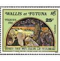 n.o 258 -  Sello Wallis y Futuna Correos