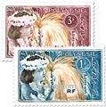 nr. 27/28 -  Stamp Polynesia Mail