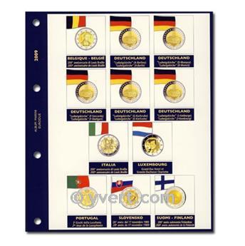 Recharges 2 EUROS commémoratifs 2009 - MARINI®