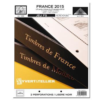 FRANCE FS : 2015 - 2E SEMESTRE (jeux sans pochettes)