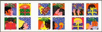 n° BC1190 - Selo França Cadernetas Diversas