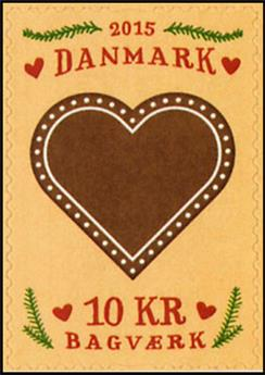 n° 1819 - Timbre DANEMARK Poste