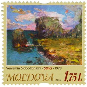 n° 803 - Timbre MOLDAVIE Poste