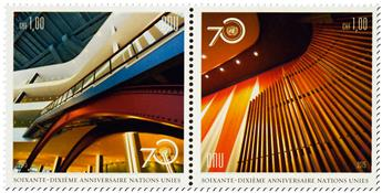 n° 927 - Timbre ONU GENEVE Poste