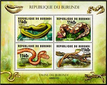 n° 2293 - Timbre BURUNDI Poste