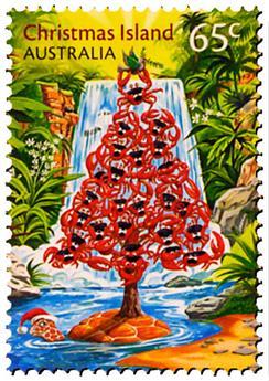 n° 811 - Timbre CHRISTMAS (ILE) Poste