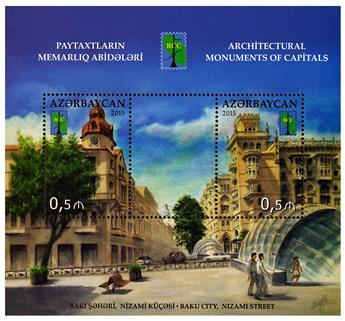 n° 140 - Timbre AZERBAIDJAN Blocs et feuillets