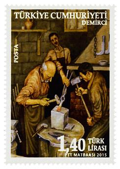 n° 3752 - Timbre TURQUIE Poste