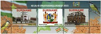 n° 2555 - Timbre SURINAME Poste