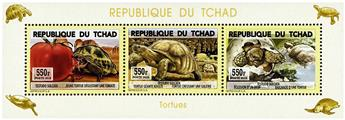 n° 1717 - Timbre TCHAD Poste