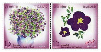 n° 3282 - Timbre THAILANDE Poste