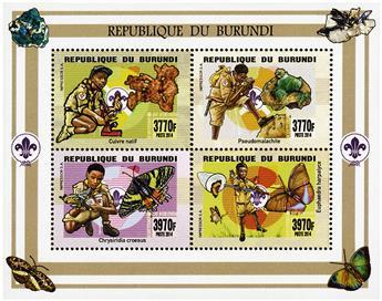 n° 2305 - Timbre BURUNDI Poste
