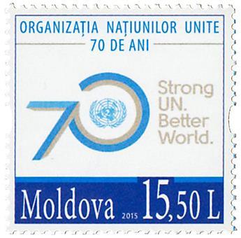 n° 814 - Timbre MOLDAVIE Poste